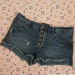 Free People Runaway Shorts size 28